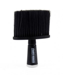 Barber Supply professional neck brush-karkówka czarna