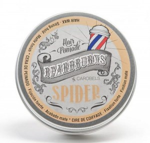 Beardburys Spider wosk matowy  100 ml
