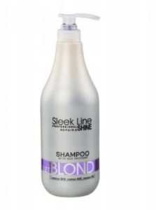 Stapiz szampon Sleek Line Violet Blond 1000 ml
